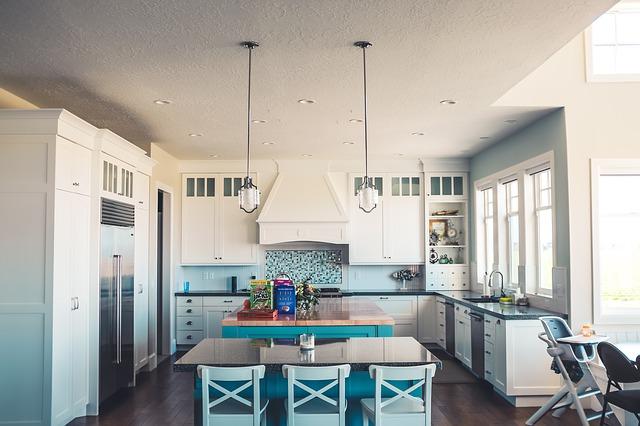 kuchyně s pracovní plochou