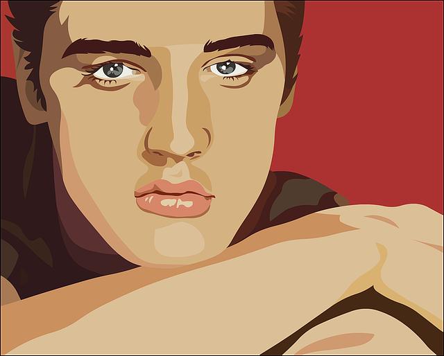 obraz Elvise