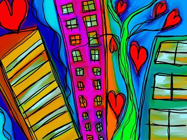 byty v různých budovách