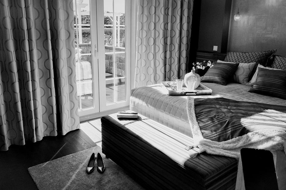 ložnice a balkon